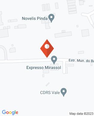 Mapa da empresa Novelis do Brasil Ltda