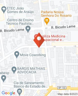 Mapa da empresa Anita Carvalho - Arquiteta e Designer