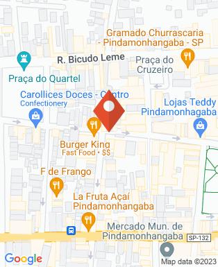 Mapa da empresa Auto Escola Pedra do Baú