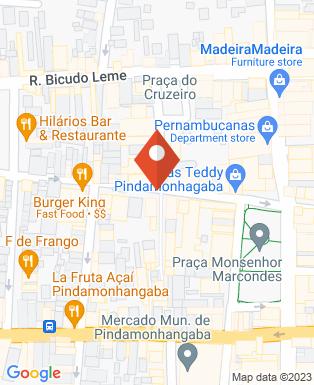 Mapa da empresa Bom de Boca Lanches