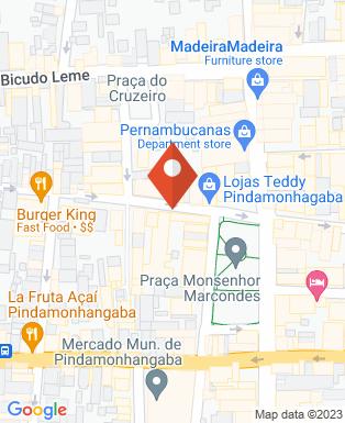 Mapa da empresa Fundação José Carlos da Rocha