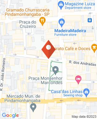Mapa da empresa Banco do Brasil 001 - Ag. 6536
