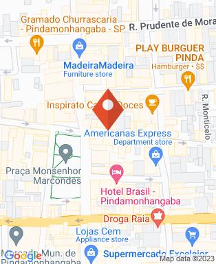 Mapa da empresa Virtua Consultoria e Treinamento