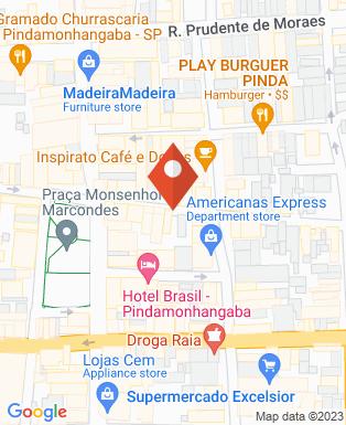 Mapa da empresa Castor Imóveis