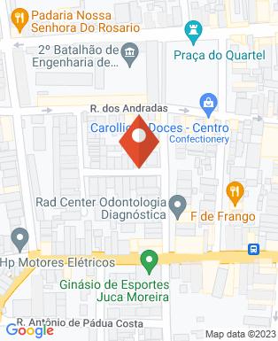 Mapa da empresa Di Placido Salon