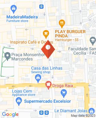 Mapa da empresa Minuano - Churrascaria & Restaurante (Centro)