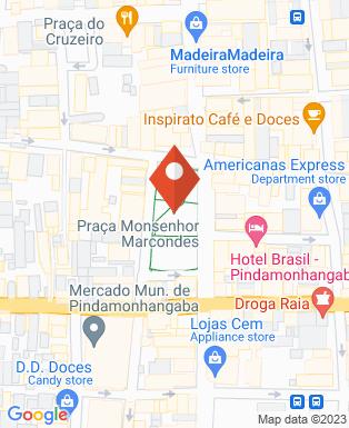 Mapa da empresa Eliel Centro de Oclusão e Prótese