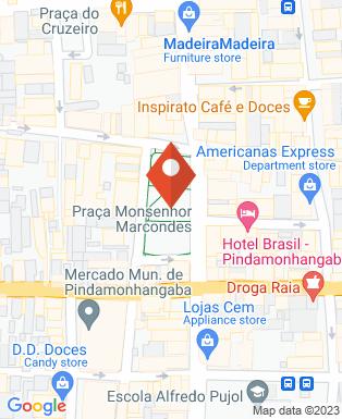Mapa da empresa Dra. Flavia Baptista de Melo - Advogada