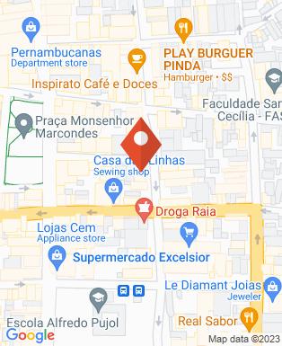 Mapa da empresa Drogaria São Paulo