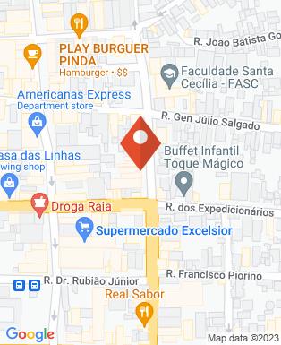 Mapa da empresa Rogi Noivas Decorações e Buffet