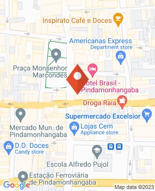 Mapa da empresa Padaria Pirpoul Pães e doces