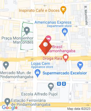 Mapa da empresa BarthonSat Telecomunicações