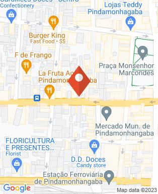 Mapa da empresa Dias Cell
