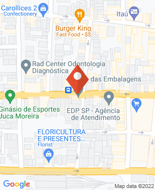 Mapa da empresa Tonhão Tintas