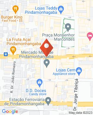 Mapa da empresa Bar do Geia