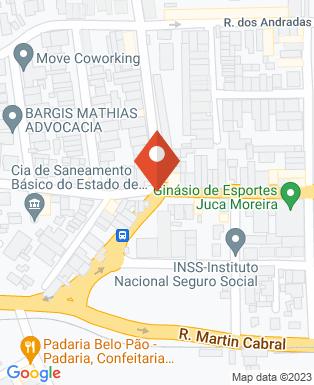 Mapa da empresa Rede Difusora de Rádio