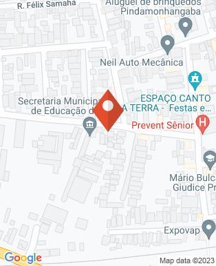Mapa da empresa Pit Stop Lava Car