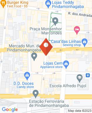 Mapa da empresa Gonzaga Som