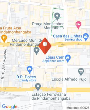 Mapa da empresa Bomboniere Nogueira