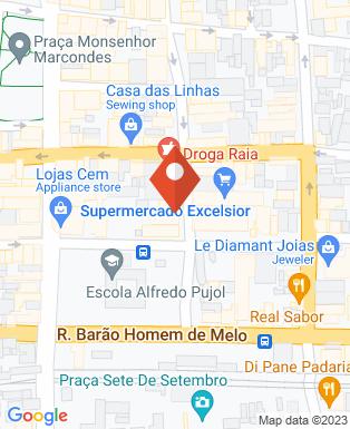 Mapa da empresa Santander 033 - Ag. 0307
