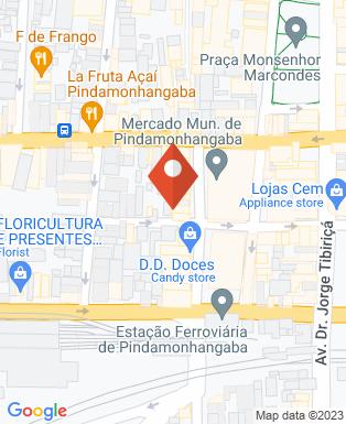Mapa da empresa Casa Oriental Pindamonhangaba