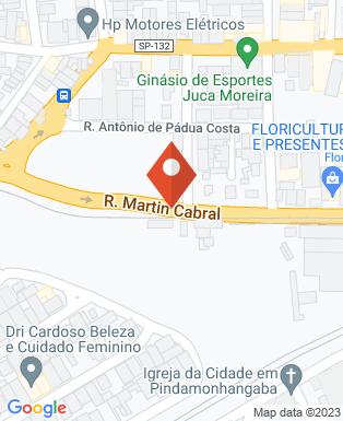 Mapa da empresa Bendito Brechó