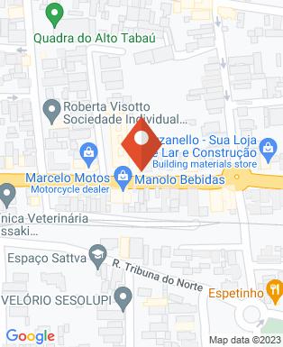 Mapa da empresa Bar do Ademir