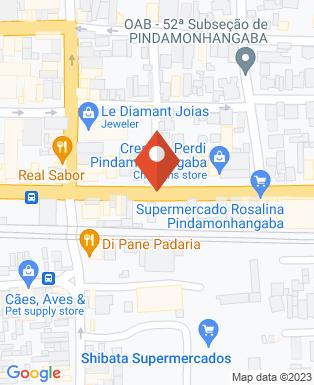 Mapa da empresa Marfinite Móveis para Escritórios