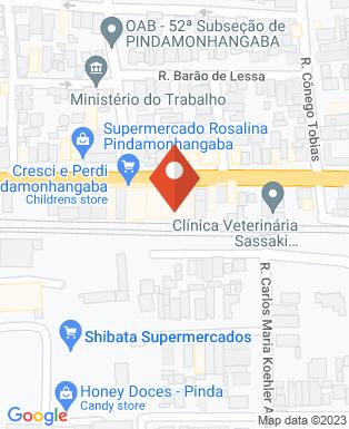 Mapa da empresa Sergio Henrique de Almeida Mandaglio Engenharia