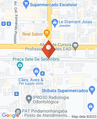 Mapa da empresa Ns Motoboy Transportes