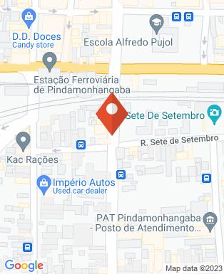 Mapa da empresa Bicicletária Tibiriçá