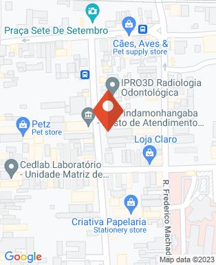 Mapa da empresa Gráfica e Editora São Benedito