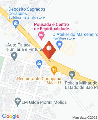 Mapa da empresa O Atelier do Marceneiro