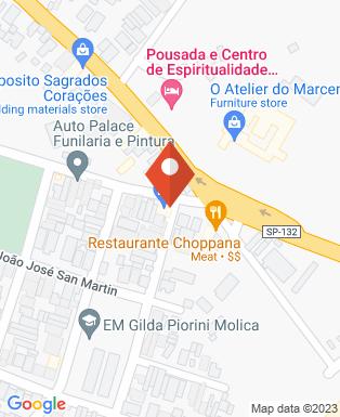 Mapa da empresa Zamigo Shop Car