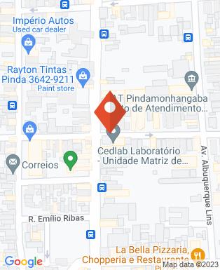 Mapa da empresa Casa Vale Mais