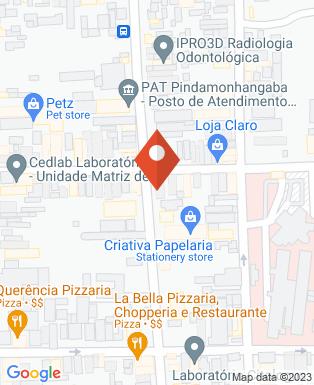 Mapa da empresa Maisan Hair