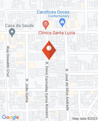 Mapa da empresa Clínica Plena