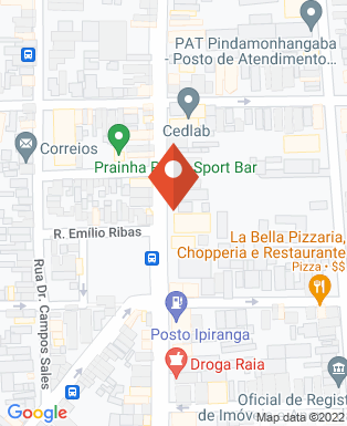 Mapa da empresa Golden Motos - Pindamonhangaba