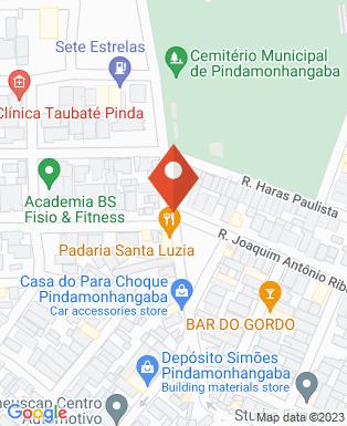 Mapa da empresa The Friends - Lanches Artesanais