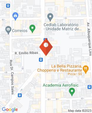 Mapa da empresa Hotel São Benedito
