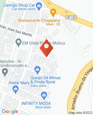 Mapa da empresa Comunidade Santas Chagas