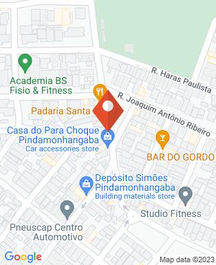 Mapa da empresa Espetinhos Jotagê