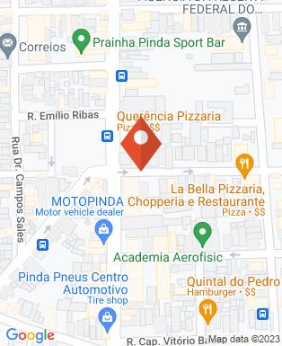 Mapa da empresa Querência - Pizzaria, Choperia e Restaurante