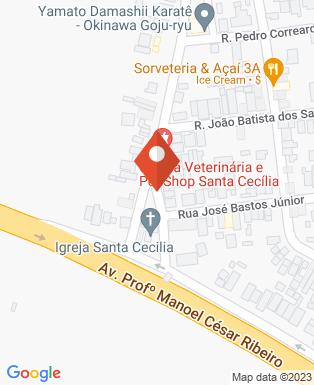 Mapa da empresa Clinica Veterinária Santa Cecilia