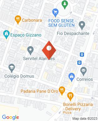 Mapa da empresa PJO - Dedetizadora e Desentupidora