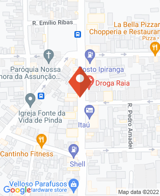 Mapa da empresa Hidroelétrica Araújo