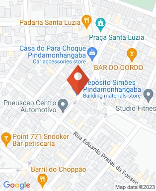 Mapa da empresa Deposito Simões