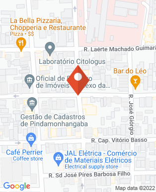 Mapa da empresa Unicred Mantiqueira 136 - Coop.1520 - Ag 3312