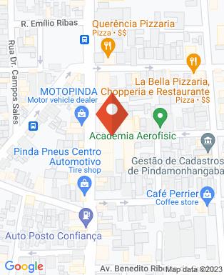 Mapa da empresa Construtora  J.Marinho - Projetos e Construções