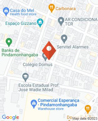 Mapa da empresa ConAtus Studio de Dança